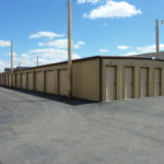 Storage units of various sizes