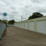 A row of storage units in Sidney, MT